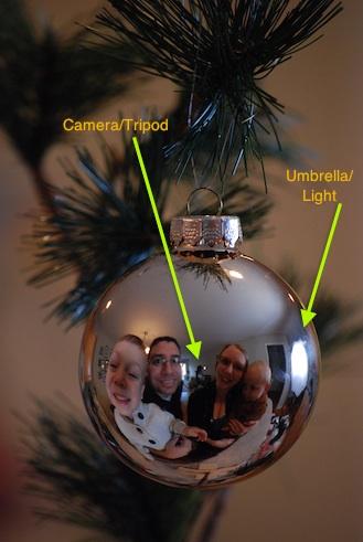 Create A Unique Holiday Card Family Portrait In Ornament