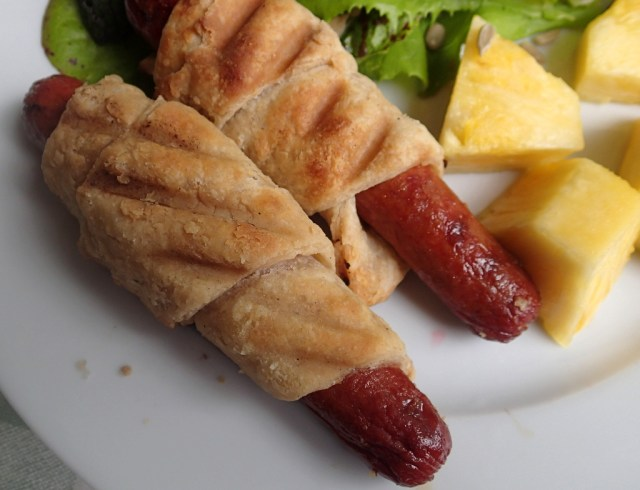 Grilled Pigs in Blankets 2 ~ Dirty Dish Club