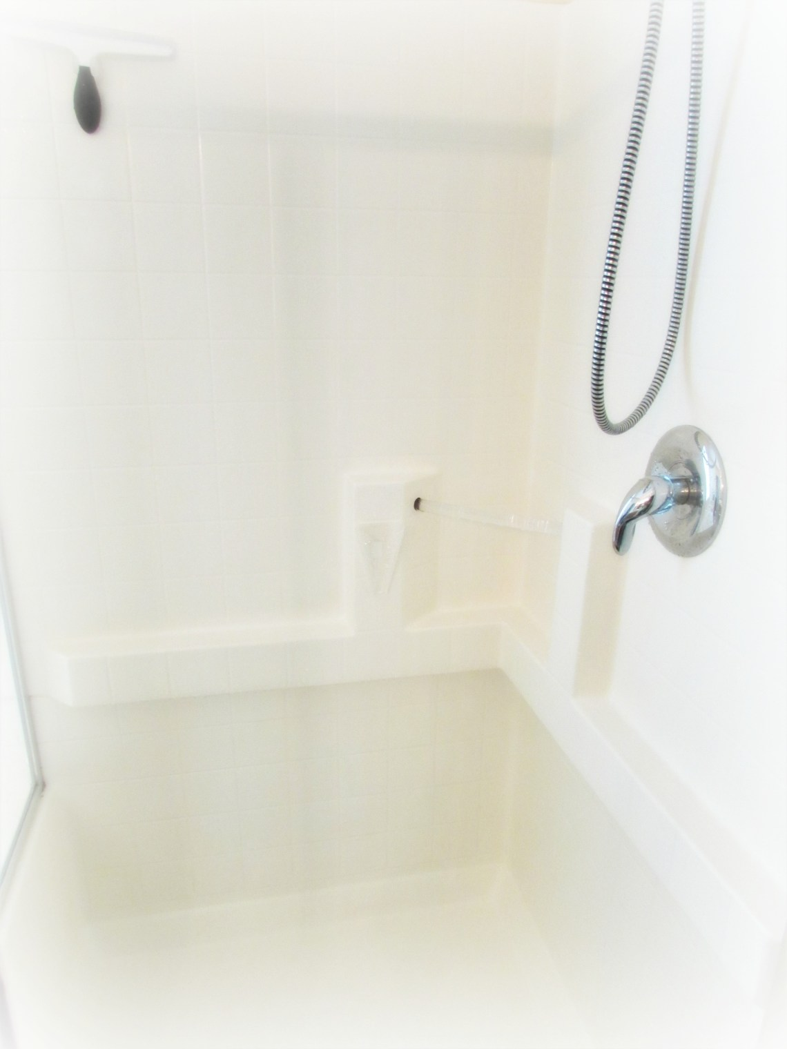 Get a Sparkling Clean Shower in Minutes with this trick