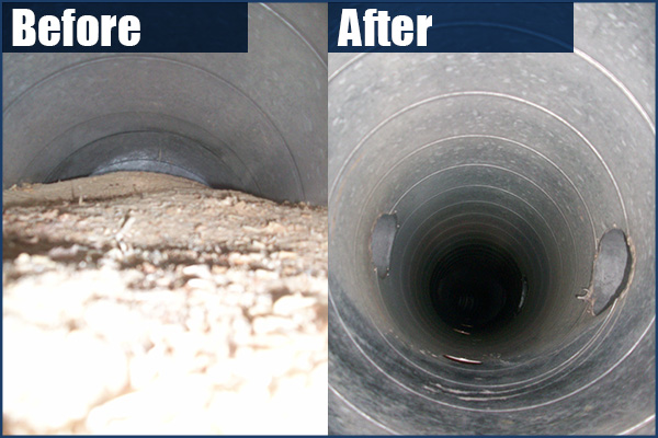 Ditry Ducts Cleaning Photo Gallery Before Amp After