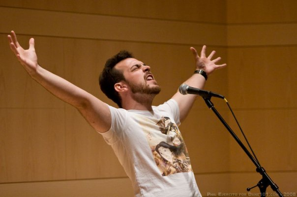 Mark Palos - The Colonel - National Poetry Slam 2008 - Madison, WI (1)