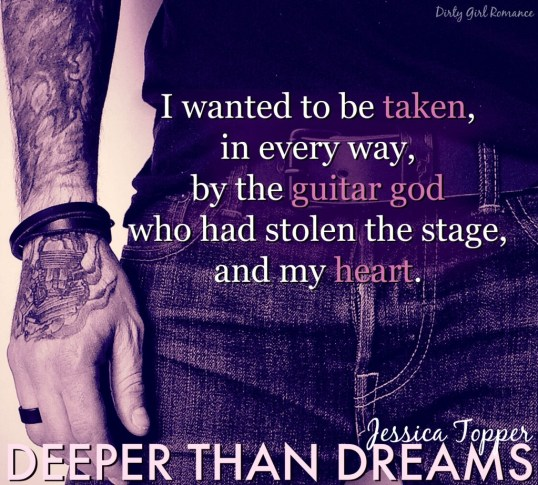 Deeper Than Dreams teaser- DirtyGirlRomance