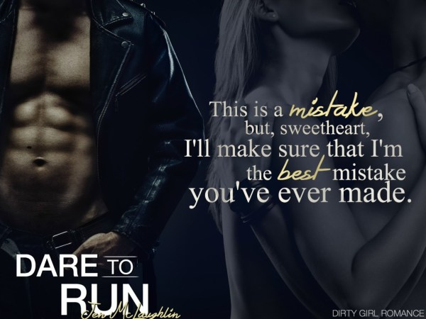 Dare To Run teaser-DGR