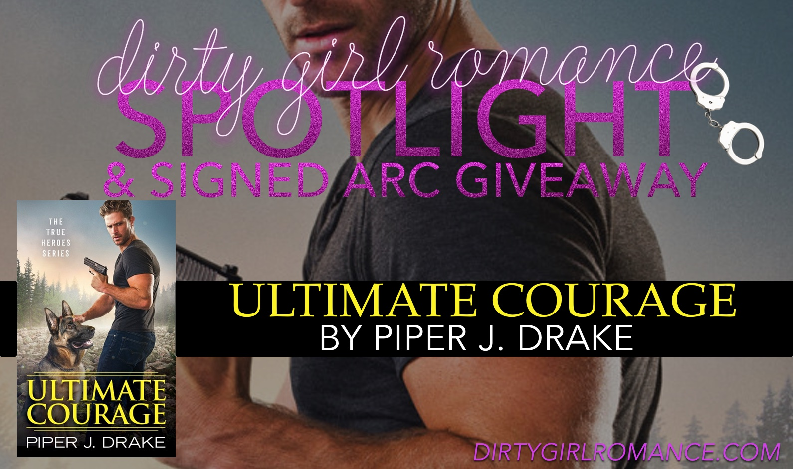 spotlight & giveaway- Ultimate Courage by Piper Drake