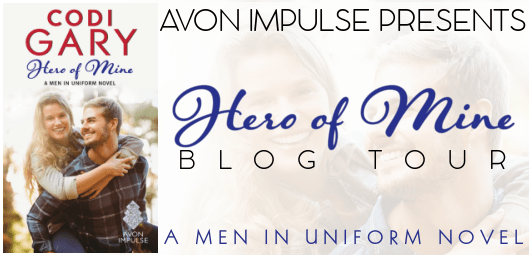 Avon Impulse - Blog Tour - Hero Of Mine by Codi Gary