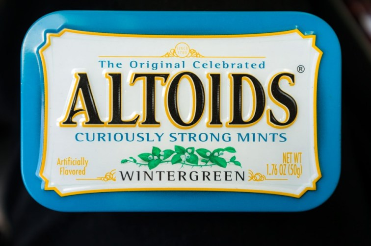 a tin of altoids a curiously strong mint