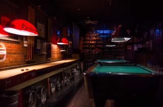 pool tables and bacchi lane