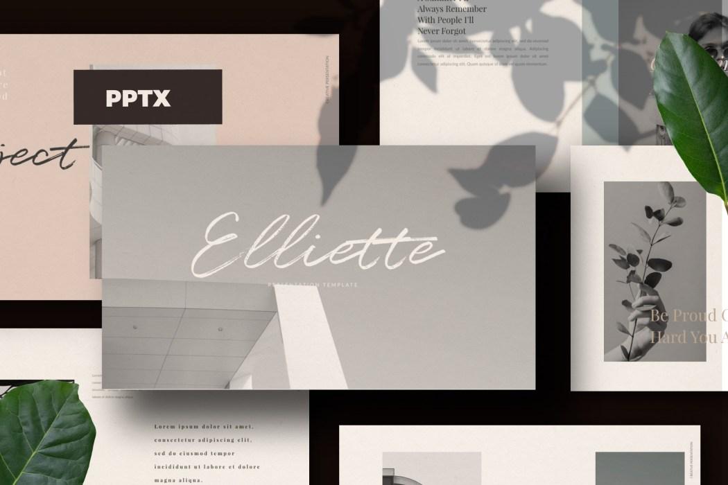 ELLIETTE //  PRESENTATION