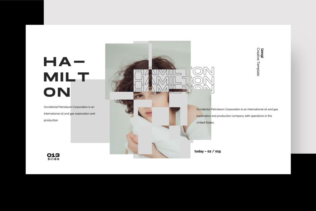 HAMILTON //  PRESENTATION
