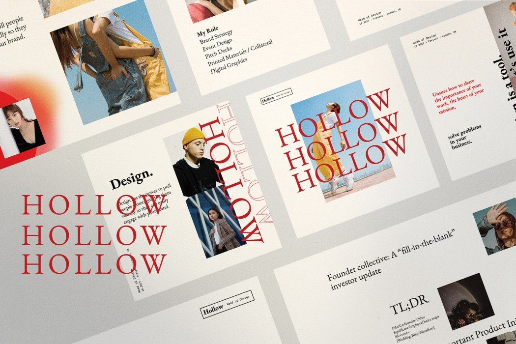 HOLLOW // Social Media Kit Post & Stories