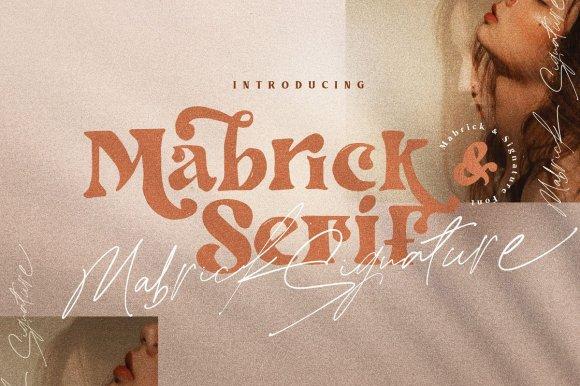 Mabrick – Font Duo