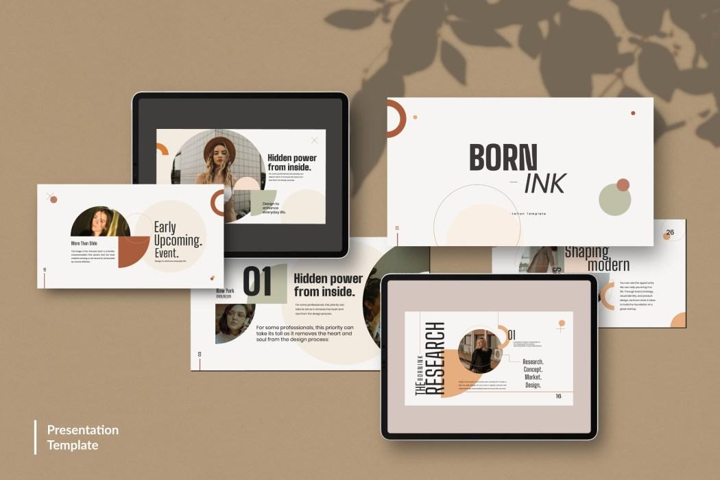 BORN-INK //  PRESENTATION