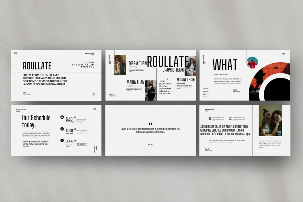 ROULATE //  PRESENTATION