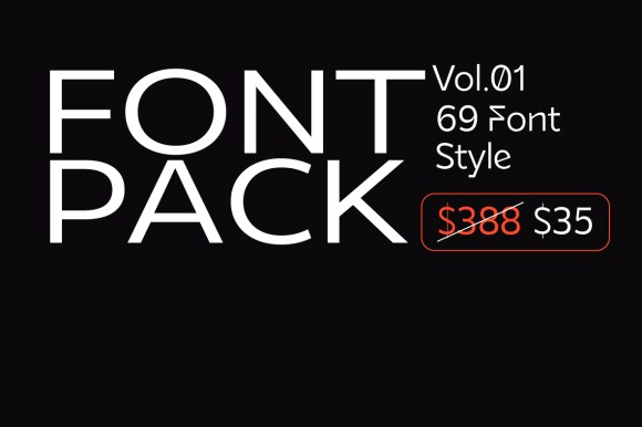 Best Font Pack Vol.1