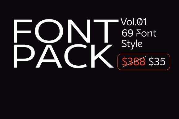 Best Font Pack Vol.1