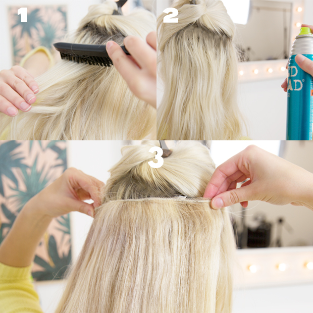 How to put in hair extensions the best hair 2017 headband and hair extensions for short can make perfect pmusecretfo Image collections