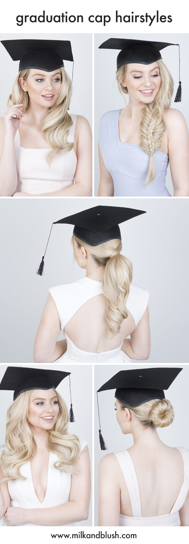 5 graduation cap hairstyles | hair extensions blog | hair