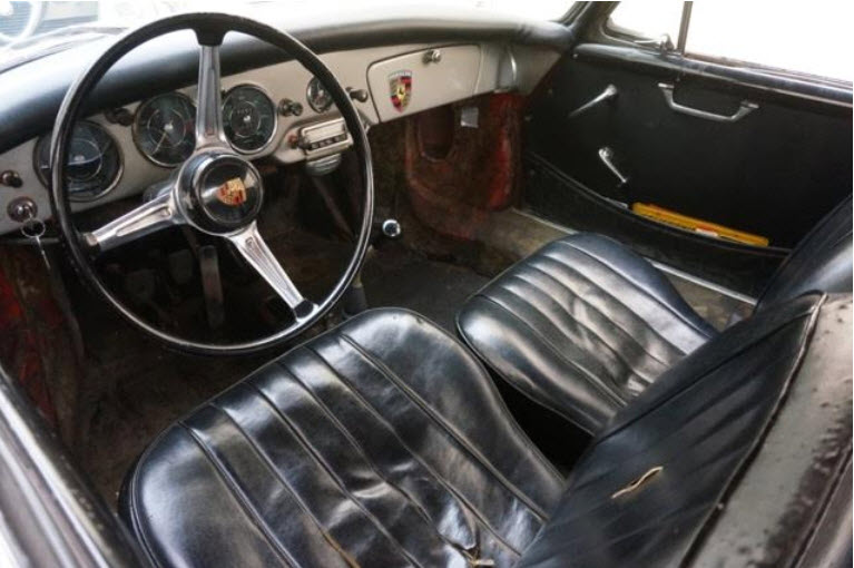 Porsche 356B Super 90 carrera brakes 2