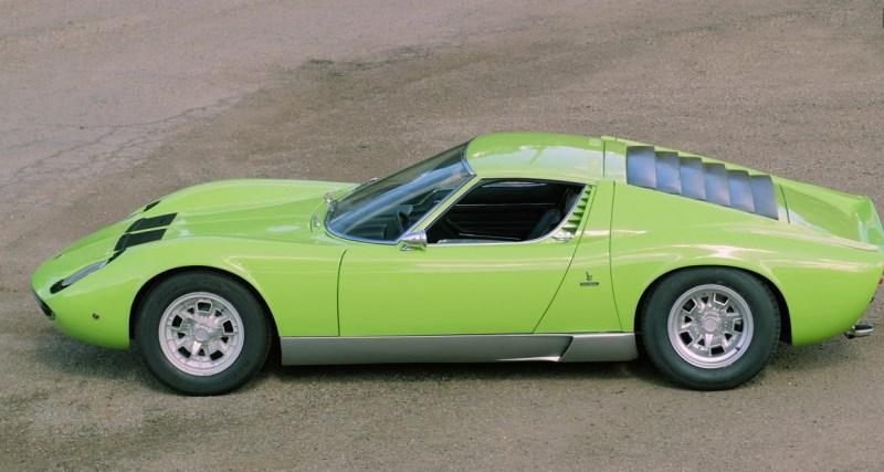 1969 Lamborghini Miura P400s Dirty Old Cars