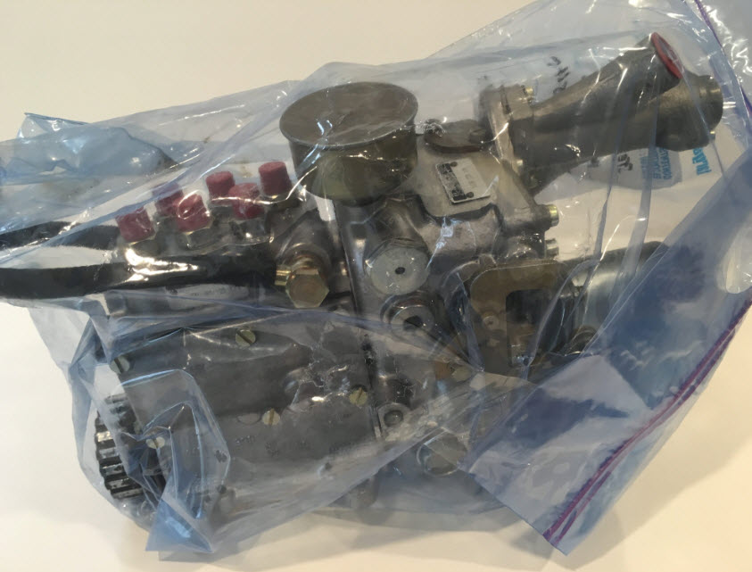 dirtyoldcars.com Porsche 1973 911RS 019 MFI : Mechanical Fuel Injection Unit 7