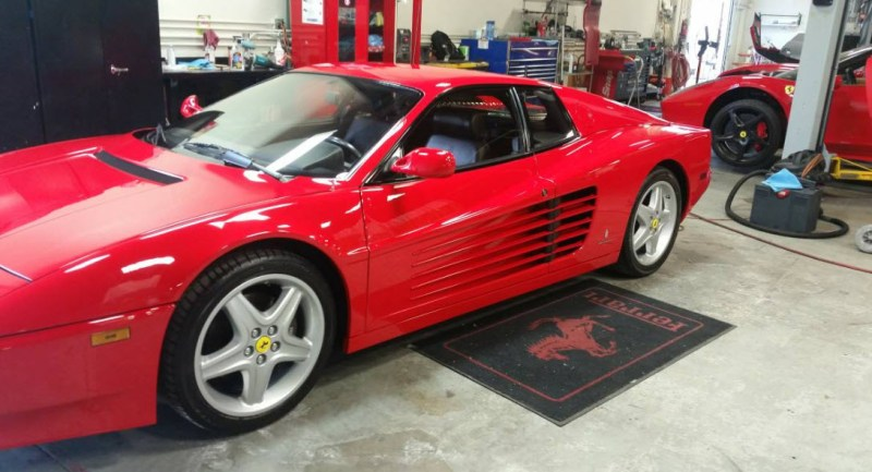 512tr 1994 for sale red black 1