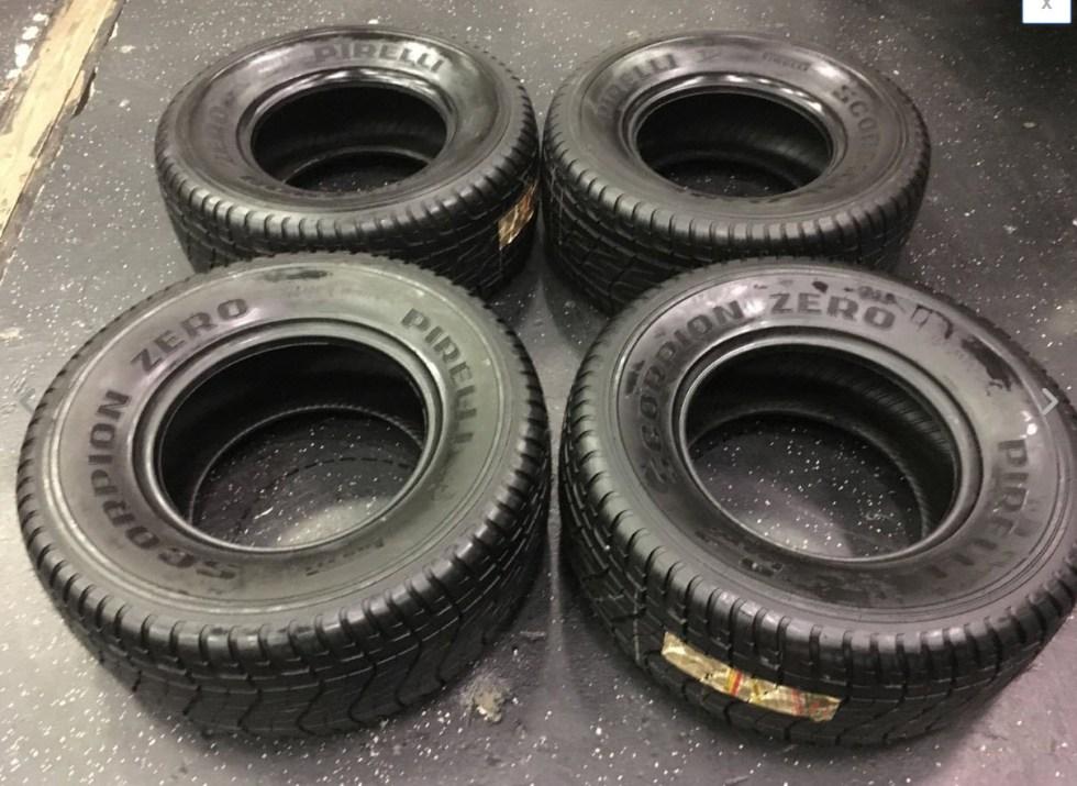 nos lamborghini lm002 tires pirelli scorpion zero dirty old cars. Black Bedroom Furniture Sets. Home Design Ideas