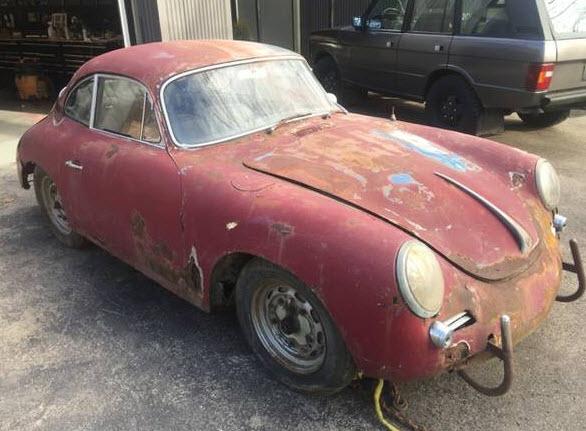 1963 Porsche 356C Barn Find