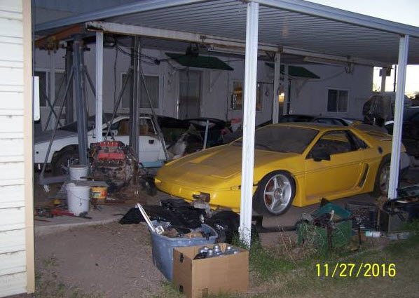 1994 Lotus Esprit S4 Part Project Dirty Old Cars