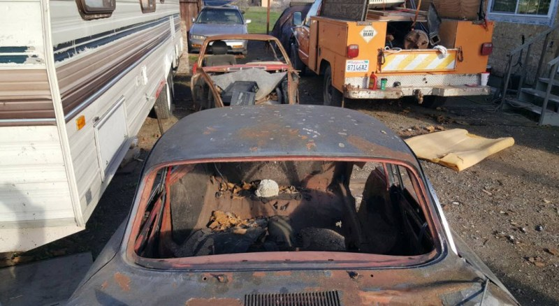 1962 Porsche 356 Project for Sale in Vacaville: VIN 117930