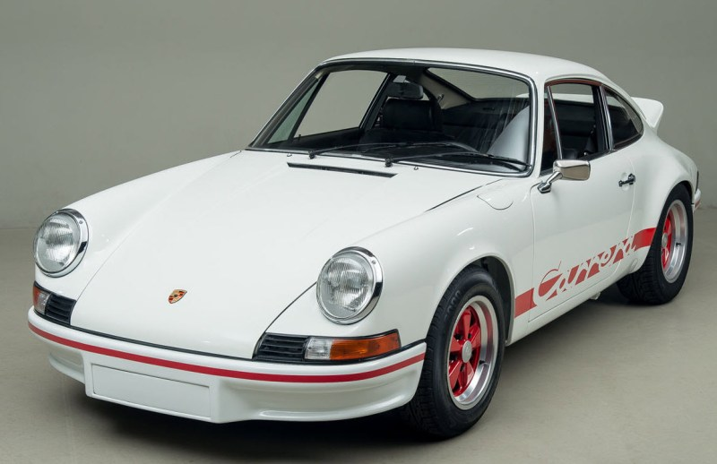 dirtyoldcars.com 1973 Porsche 911 RS 2.7 Found in New York 3