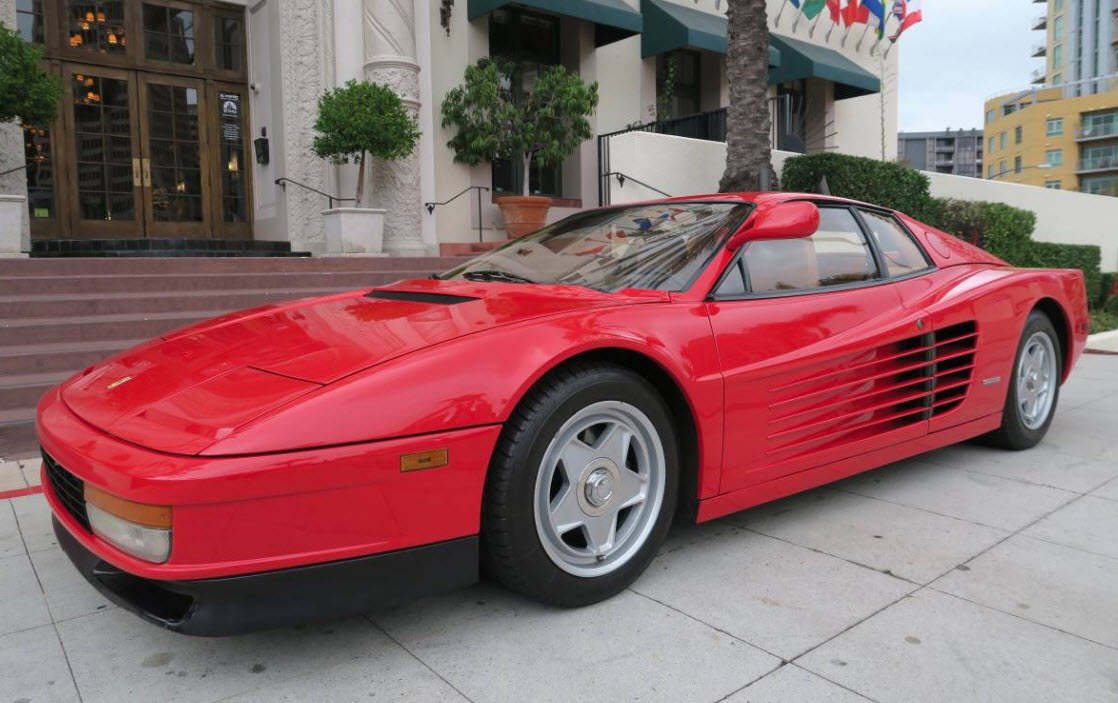 1985 Ferrari Testarossa U201cFlying Mirroru201d For Sale In San Diego