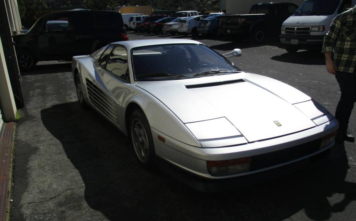dirtyoldcars.com Update 1985 Ferrara testarossa Price Reduction