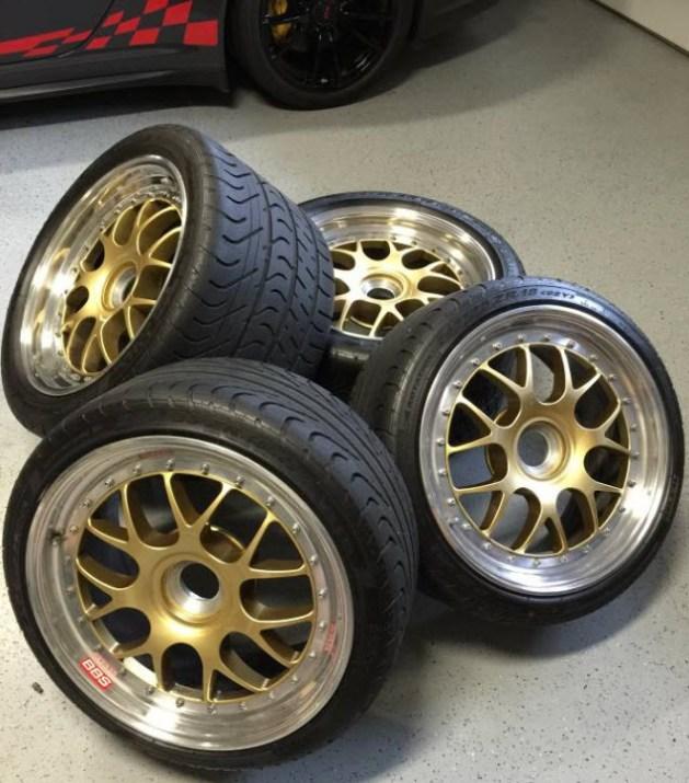 BBS Porsche 997 Center Lock Wheels | Dirty Old Cars