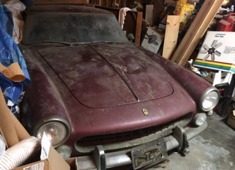 dirtyoldcars.com 1963 Ferrari 250 GTE Series 3 Found in New York 2