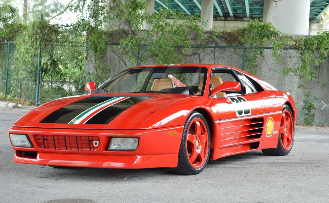 1990 ferrari 348 challenge car found in miami | dirty old cars