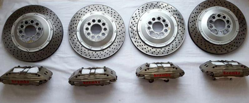 dirtyoldcars.com Ferrari 355 Challenge Official Brake Set