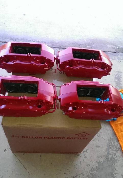 dirtyoldcars.com Ferrari 360 Brake Calipers Found in La Quinta