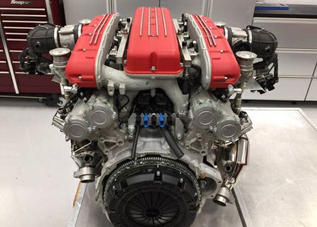 dirtyoldcars.com Ferrari 612 Engine Found in California