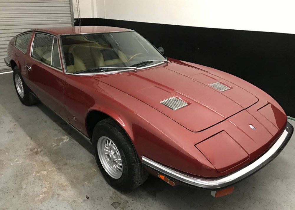 dirtyoldcars.com 1972 Maserati Indy 4.9 Found in Arizona