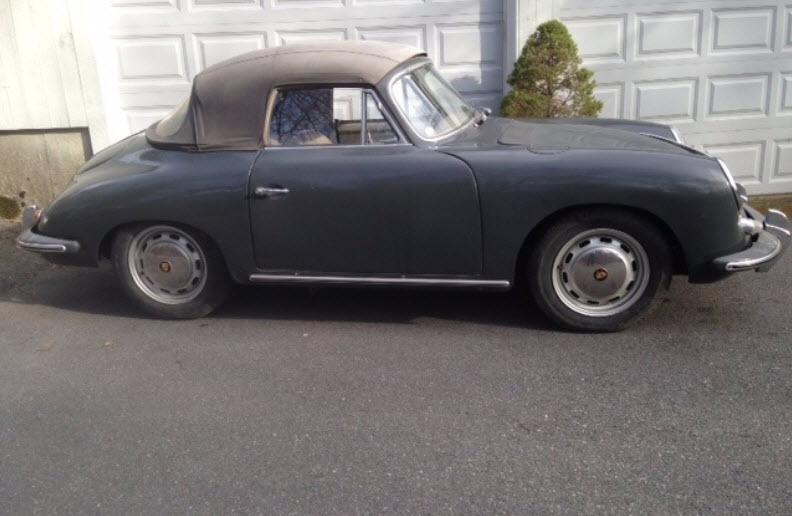 dirtyoldcars.com 1965 Porsche 356SC Cabriolet Found For Sale