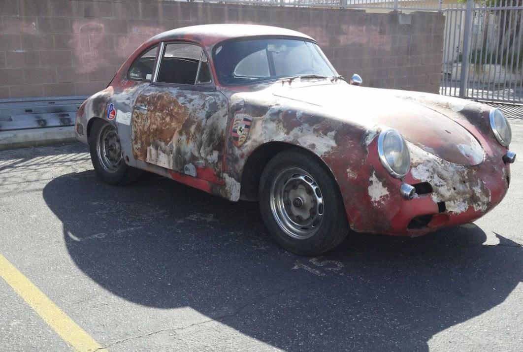 1960 Porsche 356 Super 90 Factory Racer With 60mm Gt Brakes Found In