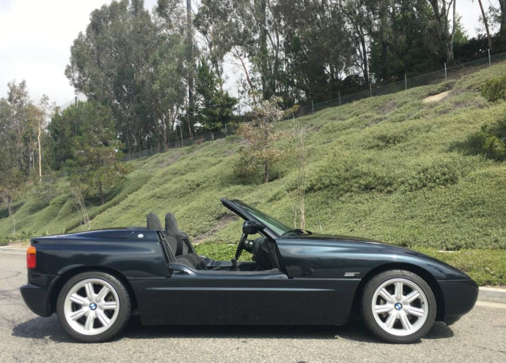 1990 Bmw Z1 Convertible Found In San Diego Dirty Old Cars
