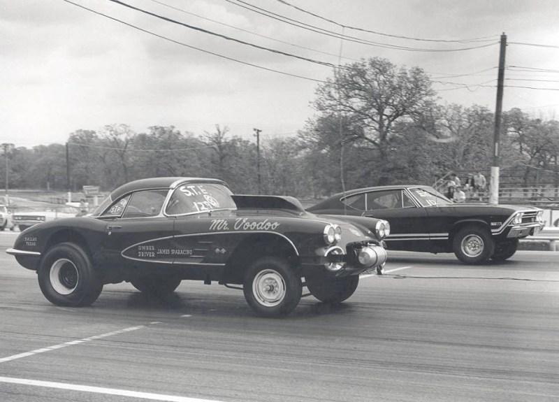 dirtyoldcars.com  1958 Corvette Gasser Mr VOO DOO Found in San Rafael  6