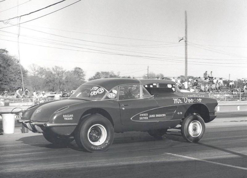 dirtyoldcars.com  1958 Corvette Gasser Mr VOO DOO Found in San Rafael  5