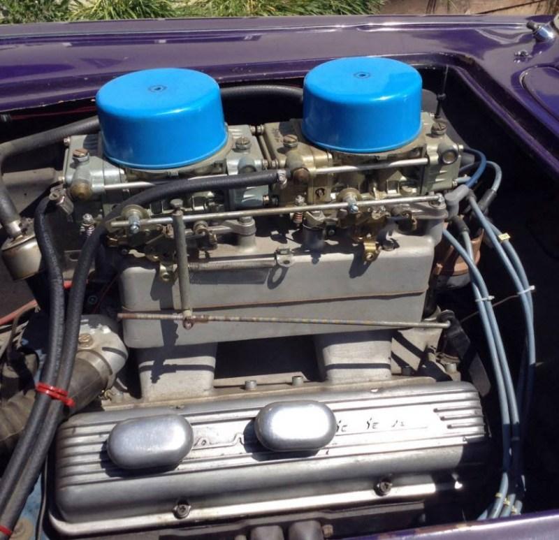 dirtyoldcars.com  1958 Corvette Gasser Mr VOO DOO Found in San Rafael  4