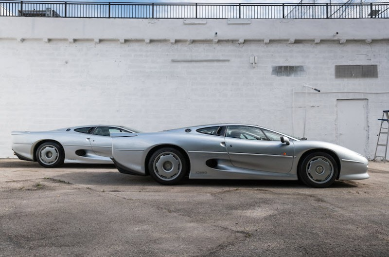 dirtyoldcars.com 1993 Jaguar XJ220 Found in Florida 4