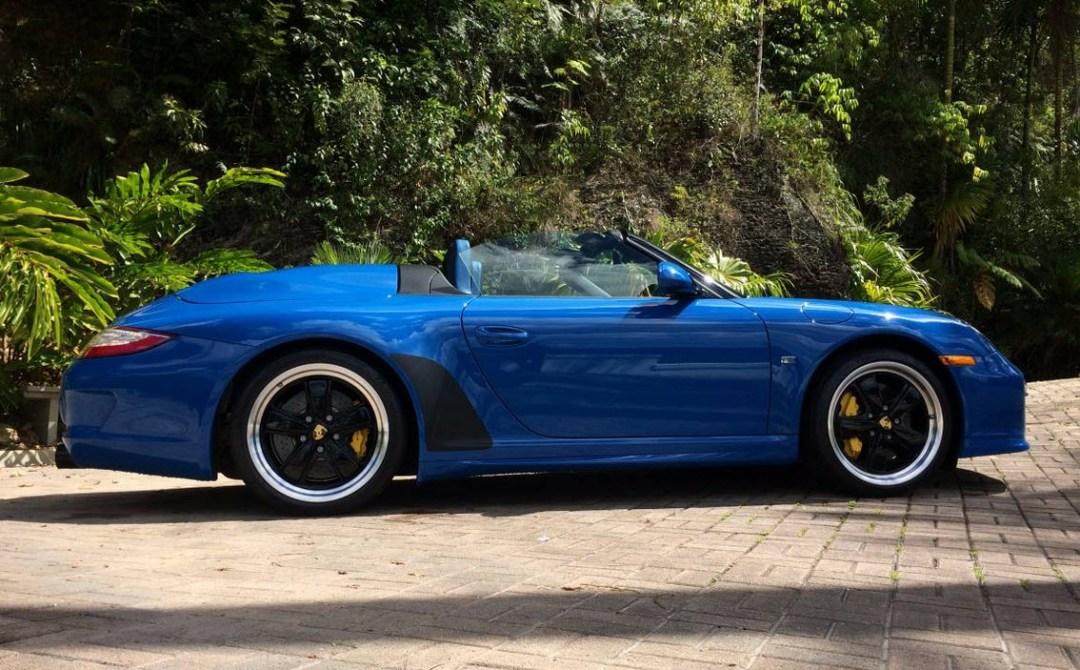 2011 Porsche 911 Speedster Found In Puerto Rico Dirty Old Cars