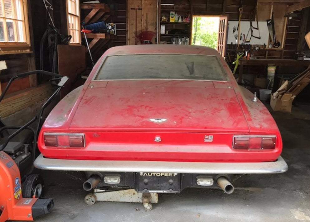 dirtyoldcars.com 1969 Aston Martin DBS Left Hand Drive Found in New York 7