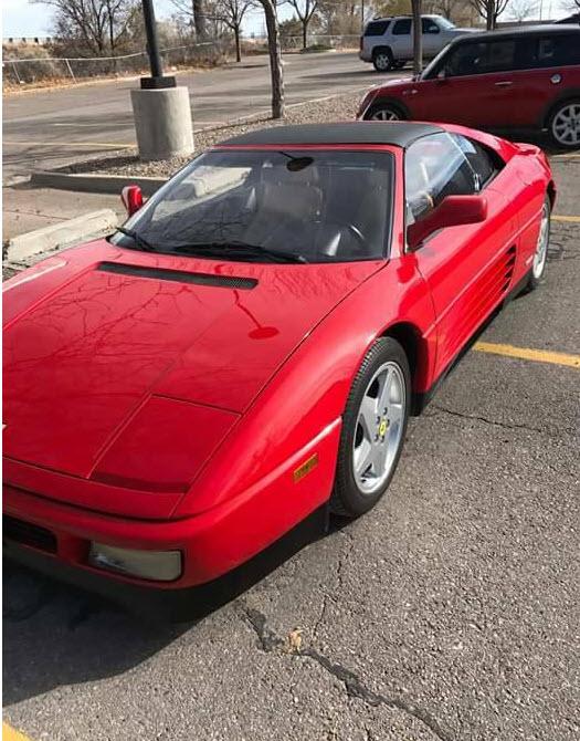 dirtyoldcars.com 1992 Ferrari 348 TS Found in Albuquerque New Mexico 2