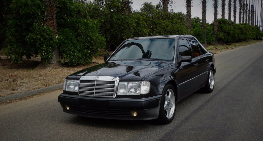 dirtyoldcars.com 1992 Mercedes 500E Found in Riverside California 9